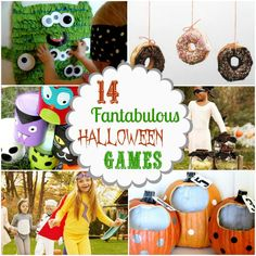 14 Fantabulous Halloween Games by NotSoIdleHands.com