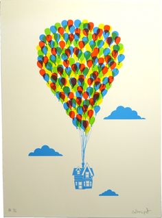Anthony Peters - Up (Print Club London)