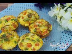 Muffin de ovo FIT - Receitas saudáveis - YouTube