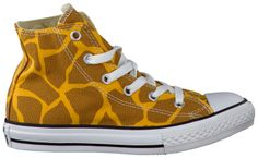 Giraffe Converse Sneakers AS ANIMAL PRINT