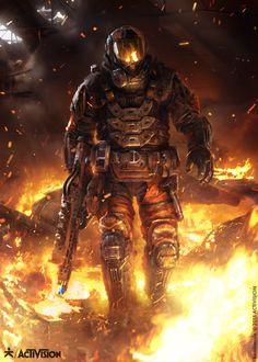 ArtStation - Black Ops III - Firebreak, karakter design studio