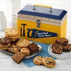 Mrs. Fields® Father's Day Cookie Tool Gift Box. See more at www.pro-gift-baskets.com!