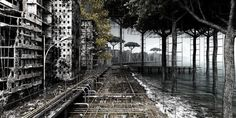 View Plant 4 by Giacomo Costa on artnet. Browse more artworks Giacomo Costa from Galerie Voss. Urban Landscape, Landscape Photos, Costa, Decay Art, Apocalypse Art, Dantes Inferno, Colossal Art, Film Inspiration, Animation