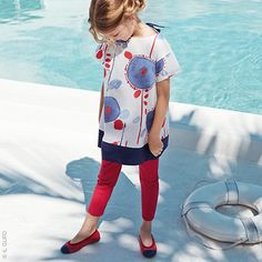 http://www.melijoe.com/uk/il-gufo-printed-cotton-percale-top-blue-and-red-110605