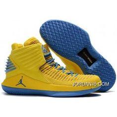 66fa16b3eced86 Mike Conley Air Jordan 32 Pe Yellow Blue Best