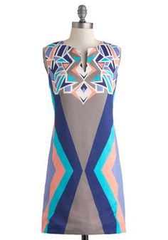 Acute Angles Dress, #ModCloth