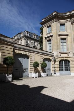 Musée Nissim de Camondo, Paris, France.  The design was modelled after the Petit Trianon in Versailles.  Shades of Downton Abbey but in Paris.  Free entry with Paris Pass.