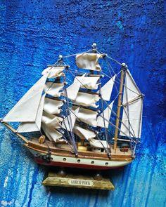 Gorch Fock Handmade Model Sailing Ship German Navel ship