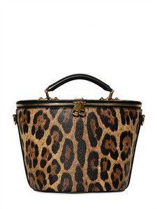 fc4a09cb8c21b2 Dolce   Gabbana - Anna Medium Leopard Print Bag