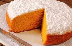 Bizcocho de zanahoria Thermomix. Una tarta de zanahoria muy especial y perfecta para desayunar o merendar con un sabor muy suave y que le va a gustar a toda la familia. 1234 Cake, Sweet Recipes, Cake Recipes, Muffins, Thermomix Desserts, Salty Cake, Almond Cakes, Savoury Cake, Clean Eating Snacks