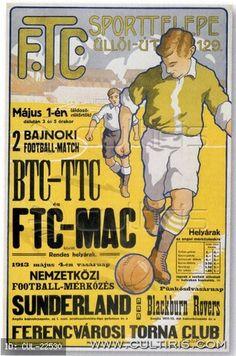 Fradi plakát, 1913 május.
