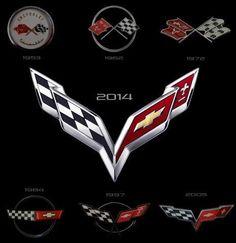 26 best corvette emblems images corvette car logos cars rh pinterest com