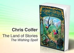 """Chris Colfer is here and he brought his new book, """"The Land of Stories: The Wishing Spell."""""""