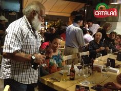 Eventos Catalán: Noche de maridaje en Catalán. El pasado 15 de agosto disfrutamos de una noche inolvidable en la tienda Catalán y con Euro Club del Vino. Gracias a todos los asistentes.