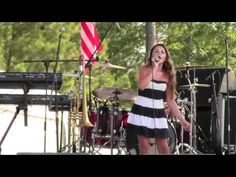 """12yr country singer Sylvia Lee Walker sings """"Flat on the Floor"""" by Carrie Underwood"""