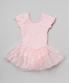 This Basic Moves Pink Cutout Skirted Leotard - Toddler & Girls by Basic Moves is perfect! #zulilyfinds