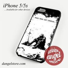 Dark Soul III Thou Who Art Undead Phone case for iPhone 4/4s/5/5c/5s/6/6s/6 plus