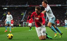 Manchester United 3 West Ham United 1: West Ham survive a penalty appeal as Nolan appears to push Janujaz