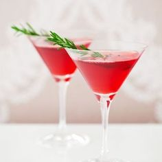 Gin and Cranberry Christmas Cocktail