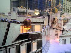 Fin Round Light - Tom Dixon - Vitrine Le Bon Marché Rive Gauche - Paris