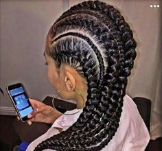 31 Stylish Ways To Rock Cornrows Stayglam Big Cornrow Hairstyles With Weave Big Cornrow Hairstyles With Weave - Hairstyles Website Number ONE in the World Cornrows Braids For Black Women, Black Girl Braids, African Braids Hairstyles, Braids For Black Hair, Girls Braids, Protective Hairstyles, Kid Braids, Ponytail Hairstyles, Braids With Weave