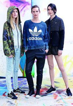 Женская и мужская спортивная одежда Adidas Originals