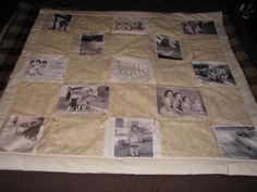 Customized Memory Quilt.
