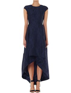 David Jones - Carla Zampatti Lapis Renaissance Brocade Gown