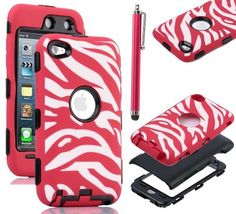 Pandamimi ULAK(TM) Zebra Design Combo Black Hard PC and Red Soft Silicon Case Cover For iPod Touch4 4th + Red Stylus by ULAK, http://www.amazon.com/dp/B00BUIQDQ6/ref=cm_sw_r_pi_dp_snNsrb11ZNA4G