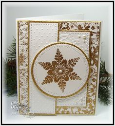 Twinkles Glow with Stamps: Sparkling Snowflakes