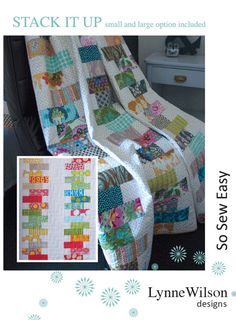Stack it up Quilt Pattern ONLY by Lynne Wilson Designs Jelly Roll Friendly Pattern by FabricGardenAus on Etsy Card Patterns, Quilt Patterns, Quilting Ideas, Cot Quilt, Weird Shapes, Simple Machines, Fabric Patch, Small Quilts, Sewing Basics