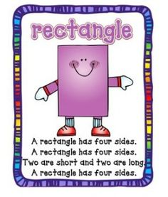 Rectangle Song Poster