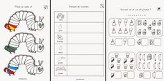 Very good Werkbladen Kleuters that you must know, You're in good company if you're looking for Werkbladen Kleuters Eric Carle, I Love School, Pre School, Very Hungry Caterpillar Printables, Free Frames, Math Resources, Good Company, Kids Education, Preschool Crafts