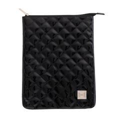 Quilted Tablet Case, Black
