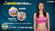 Pronóstico para el enfrentamiento de liga entre el Almería y el Athletic de Madrid. El equipo almeriense se juega el permanecer en Primera División la próxima temporada. #apuestasdeportivas