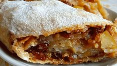 Strudel, Russian Recipes, Desert Recipes, Apple Pie, Baking Recipes, Food And Drink, Yummy Food, Sweets, Meals