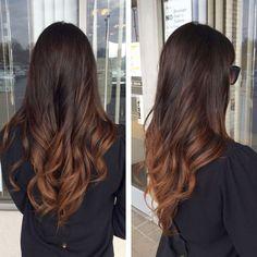 awesome Модное окрашивание волос шатуш (50 фото) —  На темные и светлые локоны…