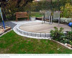 Bildergebnis für Terrasse Holz und Stein