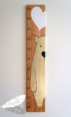 Kids Room Wall Art, Nursery Room Decor, Baby Height Chart, Diy For Kids, Gifts For Kids, Creative Arts And Crafts, Baby Boy Rooms, Baby Decor, Kids Furniture