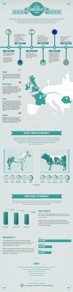 #INFOgraphic > Eating #HorseMeat: Finally who shoulders the burden for the turmoil resulted from the horse meat scandal in the food industry? And are there any nutritional drawbacks for humans in case of horsemeat eating? Australian Institute of Food Safety throughs some light on the case.  > http://infographicsmania.com/eating-horse-meat/