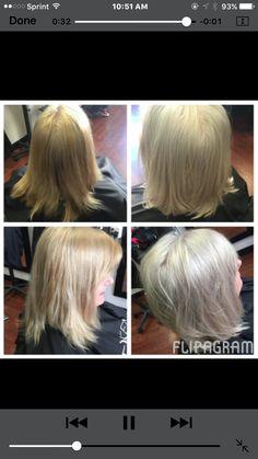 Silver blonde Silver Blonde, Amanda, Hair