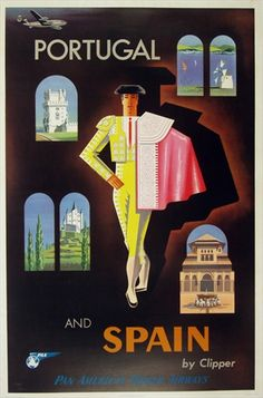 Vintage European Posters  ***Research for possible future project.