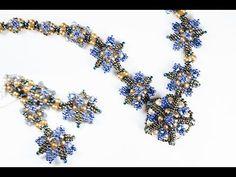 Колье с браслетом и серьгами.(Часть 3/3) - YouTube