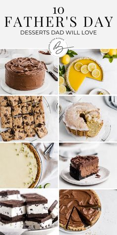 """Here are 10 Father's Day dessert ideas that say """"you're the best""""! These sweet treats are worthy of Dad's special day. Bake up one of these easy and delicious desserts and treat your favorite guy to something sweet this Father's Day. 