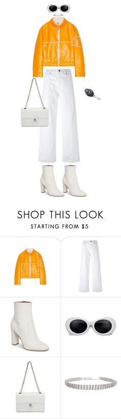 """""""no white after labor day"""" by truuujb ❤ liked on Polyvore featuring Gosha Rubchinskiy, Vince, Steve Madden, Chanel and BMW"""