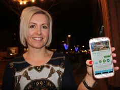 Kindergarten teacher Nicole Lemstra of Willowgrove School is using a smartphone app to help connect the home to the classroom. Using an iPad, students capture a moment from their day and then upload it to their portfolio for their parents to view from a computer or smartphone at home. Lemstra said the app helps ensure her students' parents are kept in the loop, and it helps her track which families are engaged in their students learning and which ones may need support.