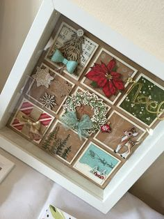 Julie Kettlewell - Stampin Up UK Independent Demonstrator - Order products 24/7: Christmas Collage Frame