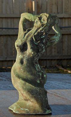 """Bather"" Bronze 4 X 9.5 X 4 2013"