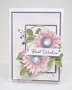 Hey Everyone There's a new challenge at Just Add Ink. This week is sketch week and I've designed the following sketch for you. The card I've created is another floral creation. …