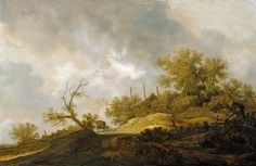 Landscape at the Edge of a Village, Joost de Volder, 1649, Gift of Mr. and Mrs. Vincent J. Romeo